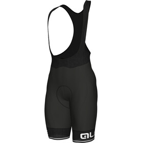 Alé Cycling Corsa Bib Shorts Heren, black-white
